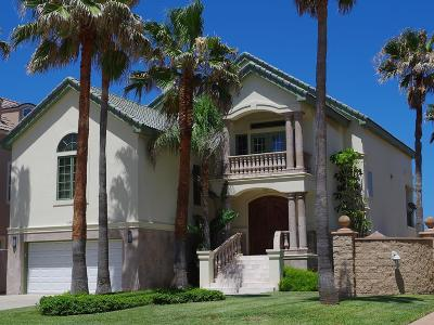South Padre Island Single Family Home For Sale: 6500 Beach Drive