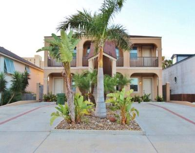South Padre Island Condo/Townhouse For Sale: 106 W Capricorn Dr. #D