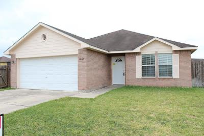 Los Fresnos Single Family Home For Sale: 1848 Cisco Dr.