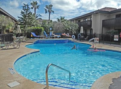 South Padre Island Condo/Townhouse For Sale: 6608 Padre Blvd. #155