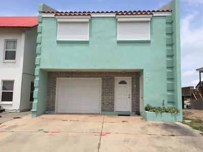 Port Isabel Single Family Home For Sale: 1418 Harbor Island Dr.