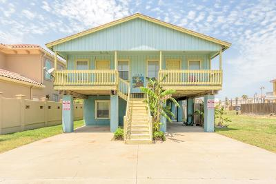 South Padre Island Multi Family Home For Sale: 124 E Aries Dr.