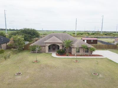 Los Fresnos Single Family Home For Sale: 35564 Kretz Rd.