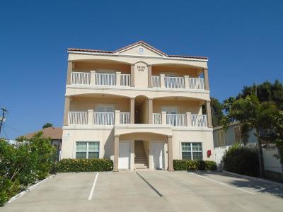 South Padre Island Condo/Townhouse For Sale: 104 E Tarpon Street #1,  2,