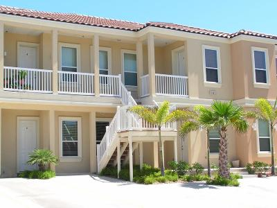 South Padre Island TX Condo/Townhouse Sold: $169,000
