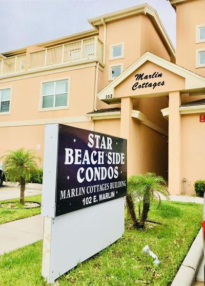 South Padre Island Condo/Townhouse For Sale: 102 E Marlin St. #4