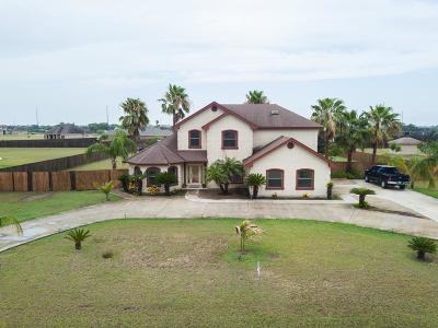 Los Fresnos Single Family Home For Sale: 35221 Kretz Rd.