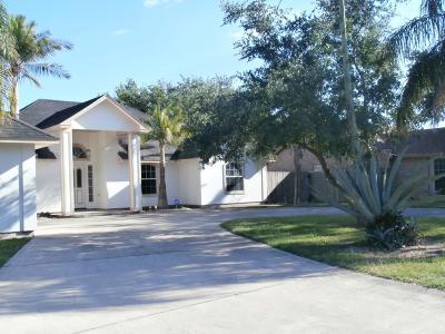 Los Fresnos Single Family Home For Sale: 101 Resaca Retreat