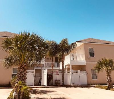 South Padre Island Condo/Townhouse For Sale: 105 E Tarpon Street #9