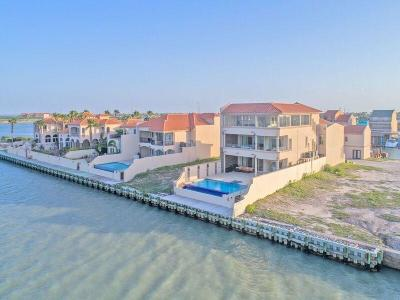 Bayview, Laguna Heights, Laguna Vista, Port Isabel, South Padre Island Single Family Home For Sale: 156 Queens Point