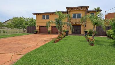 South Padre Island TX Single Family Home For Sale: $649,900