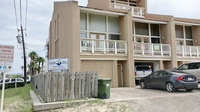 South Padre Island Condo/Townhouse For Sale: 4700 Gulf Blvd. #1