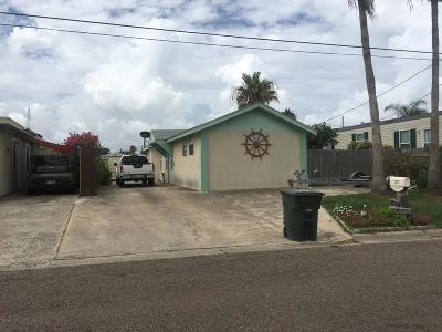 Port Isabel TX Single Family Home For Sale: $259,000