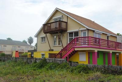 South Padre Island Multi Family Home For Sale: 129 E Esperanza St.