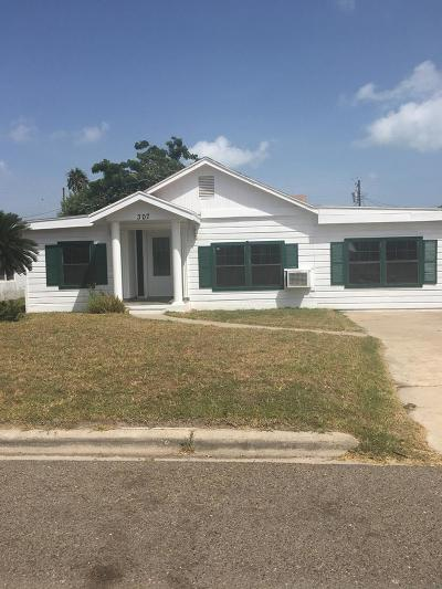 Port Isabel Single Family Home For Sale: 307 E Monroe