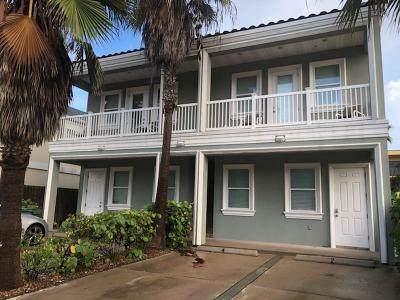 South Padre Island Condo/Townhouse For Sale: 124 E Saturn Lane #2
