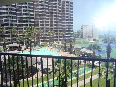 South Padre Island Condo/Townhouse For Sale: 406 Padre Blvd. #407