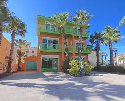 South Padre Island TX Single Family Home For Sale: $799,000
