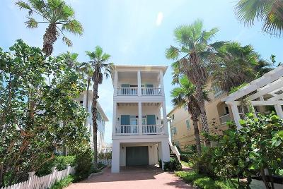 South Padre Island Single Family Home For Sale: 8346 Breakers Blvd.