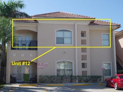 South Padre Island Condo/Townhouse For Sale: 103 E Gardenia St. #12