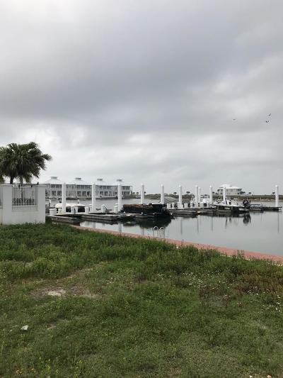 South Padre Island Residential Lots & Land For Sale: 8403 W Marina Dr.