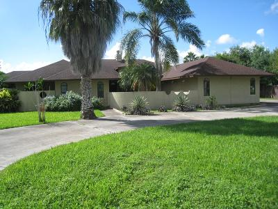 Bayview, Los Fresnos Single Family Home For Sale: 39626 Palm Dr