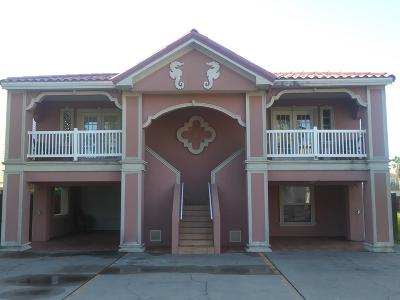 South Padre Island Multi Family Home For Sale: 123 E Campeche St.