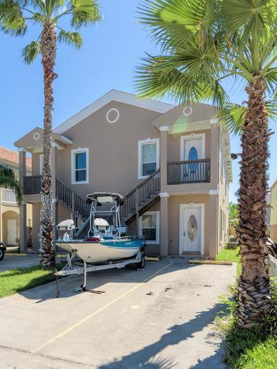 South Padre Island Condo/Townhouse For Sale: 117 E Campeche St. #3