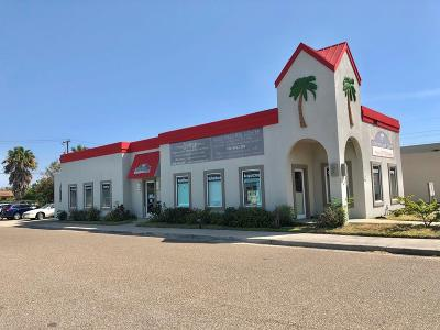 Port Isabel, Laguna Heights Commercial For Sale: 201 W Queen Isabella Blvd.