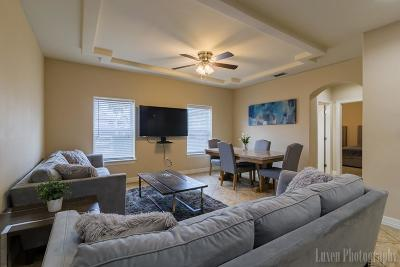 South Padre Island Condo/Townhouse For Sale: 201 W Oleander Drive #Unit # 1