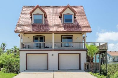 South Padre Island Single Family Home For Sale: 215 W Hibiscus St.