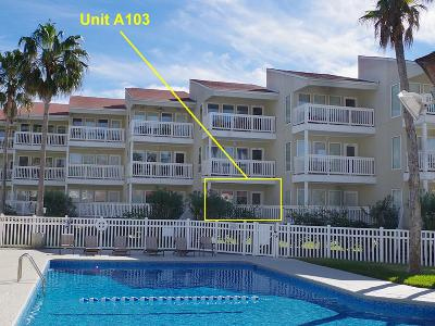 South Padre Island Condo/Townhouse For Sale: 200 Padre Blvd. #A103