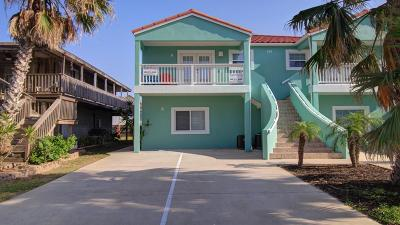 South Padre Island Condo/Townhouse For Sale: 111 E Marlin St. #A