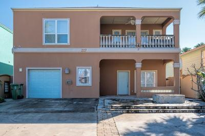South Padre Island Single Family Home For Sale: 227 W Gardenia St.