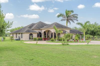 Los Fresnos Single Family Home For Sale: 29822 Highway 100
