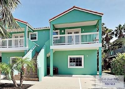 South Padre Island Condo/Townhouse For Sale: 111 E Marlin St. #B