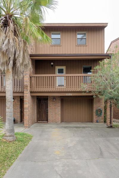 South Padre Island Condo/Townhouse For Sale: 113a E Oleander St.