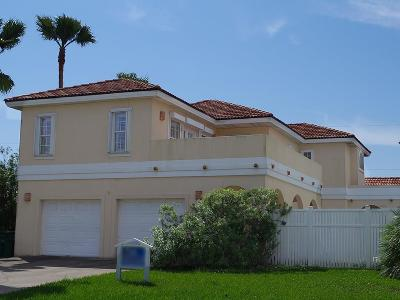 South Padre Island Single Family Home For Sale: 207 W Campeche St.