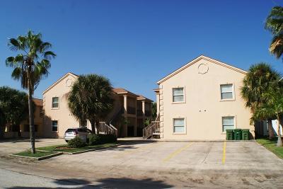 South Padre Island Condo/Townhouse For Sale: 120 E Campeche St. #5
