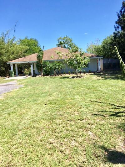 Los Fresnos Single Family Home For Sale: 36317 Dodds Dr.