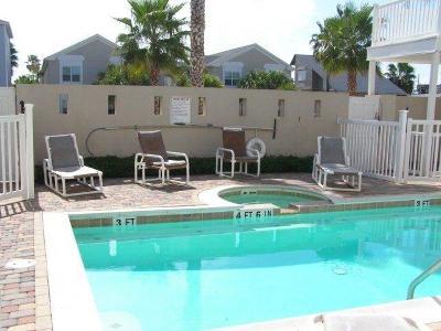 South Padre Island Condo/Townhouse For Sale: 108 E Polaris Dr. #3