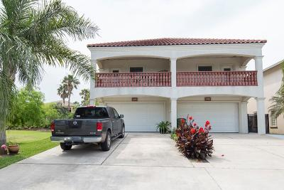 South Padre Island Condo/Townhouse For Sale: 215 W Cora Lee Dr. #A