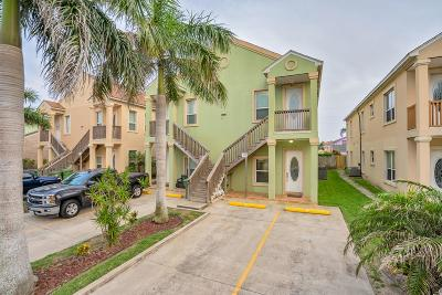 South Padre Island Condo/Townhouse For Sale: 117 E Lantana St. #6
