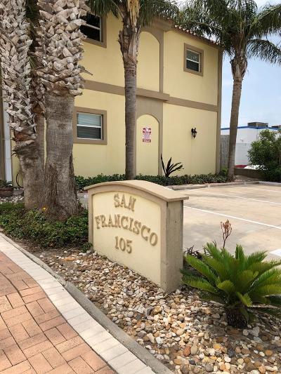 South Padre Island Condo/Townhouse For Sale: 105 E Pompano St. #6