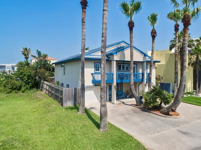 South Padre Island Single Family Home For Sale: 5906 Tropical Dr.