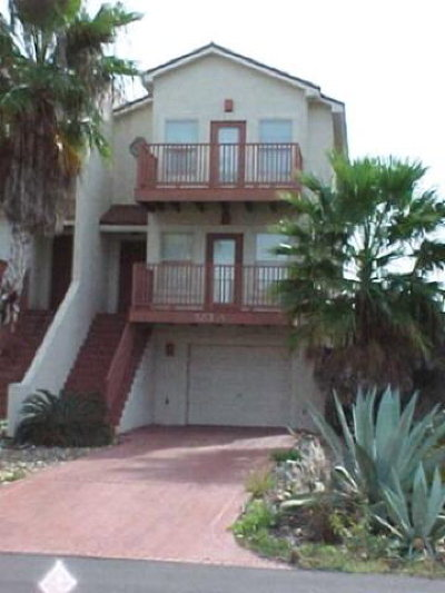 South Padre Island Condo/Townhouse For Sale: 123 E Parade Dr. #A