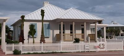 South Padre Island Single Family Home For Sale: 8406 Water St.