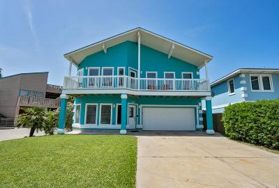 South Padre Island Single Family Home For Sale: 217 W Oleander St.