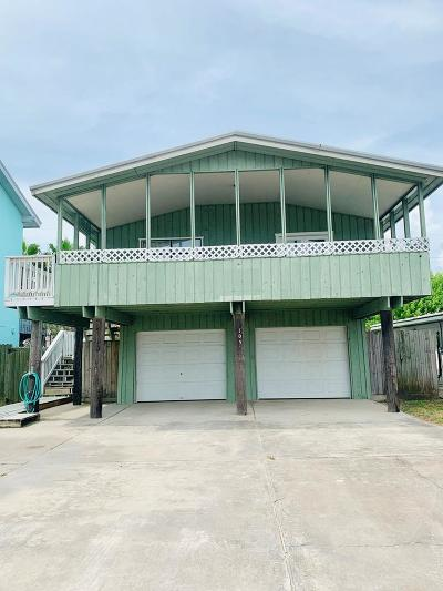 South Padre Island Single Family Home For Sale: 105 Marisol Dr.