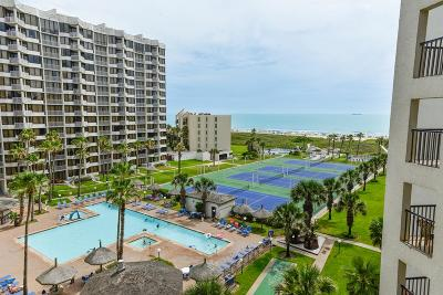 South Padre Island Condo/Townhouse For Sale: 406 Padre Blvd. #708